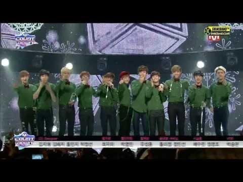 131219 EXO Christmas Day+1위 엔딩