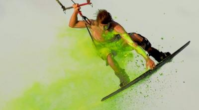 Color Your Life - Kiteboarding
