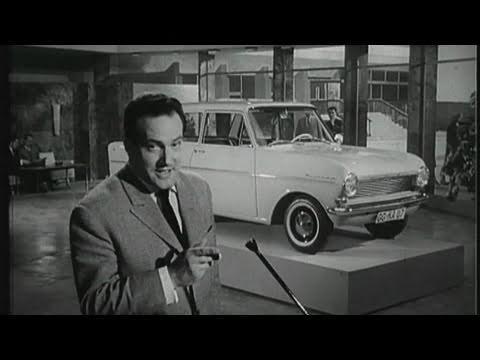 Opel Kadett - Historische Autowerbung