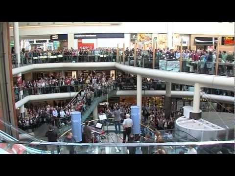 Flash Mob - RTÉ Radio 1 Flash Mob Hallelujah Chorus in Dundrum Town Centre.