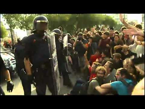 Plaça Catalunya - Indignats | Desallotjament de la Plaça Catalunya