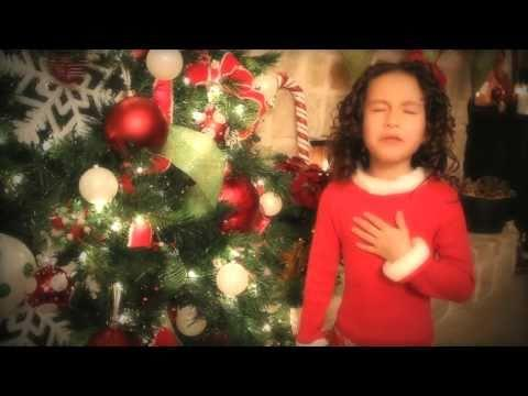 Rhema Marvanne - All I Want For Christmas is You - 7 yr old Rhema Marvanne..Truly Amazing - plz