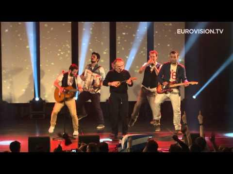 Koza Mostra - feat. Agathon Iakovidis - Alcohol Is Free (Greece) LIVE at Eurovision In Concert 2013