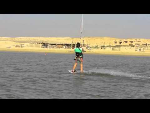 Kate O'Beirne - Kitesurfing in Egypt