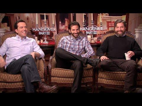 THE HANGOVER PART III - THE HANGOVER PART III Interviews: Bradley Cooper, Ed Helms, Zach Galifianaki