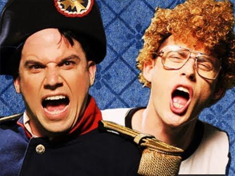 Nice Peter-Lloyd Ahlquist - Napoleon vs Napoleon.  Epic Rap Battles of History #9
