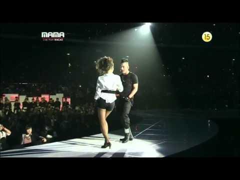 MAMA 2010 - Taeyang Kiss Dara From 2NE1 [HD]