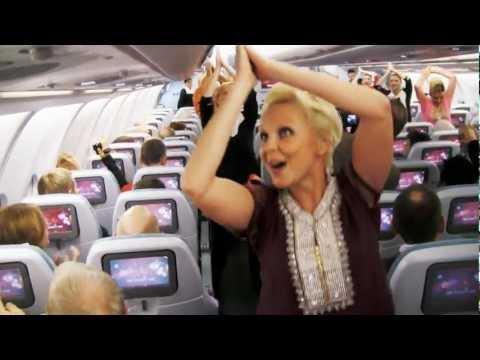 Finnair - Surprise Dance on Finnair Flight to celebrate India's Republic Day