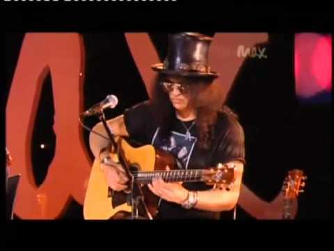 Slash & Myles Kennedy - Sweet Child O' Mine - Rare Acoustic - Live Max Sessions 2010 HQ