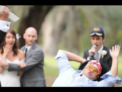 Improv Everywhere - Wrestler Interrupts Wedding