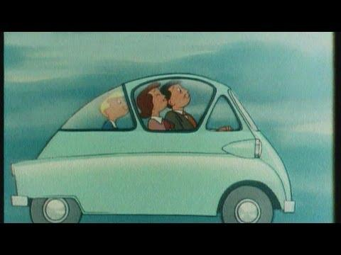 Motorvision Humor - Historische Autowerbung