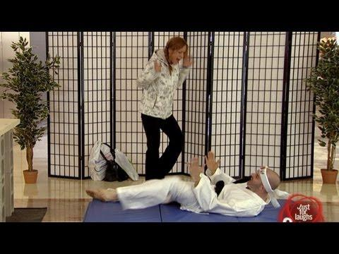 Just for Laughs TV - Karate Demonstration Fail Prank!