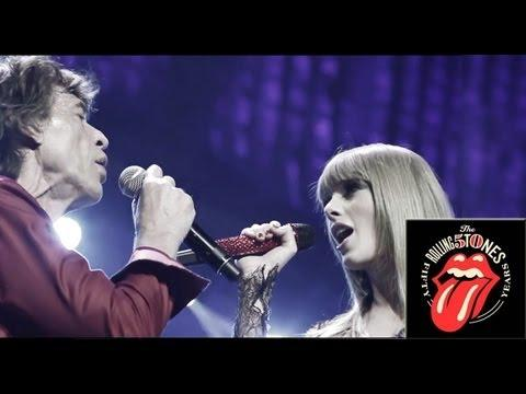 The Rolling Stones - with Taylor Swift - As Tears Go By - Live in Chicago