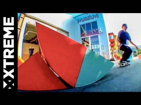 XTremeVideo - SKATEBOARDING @ Santa Monica Museum Of Art