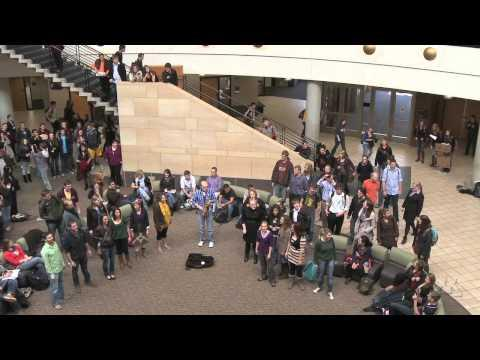 Carlson School of Management - Flash Mob, Deck the Halls