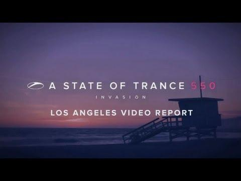 A State of Trance 550 - Los Angeles video report