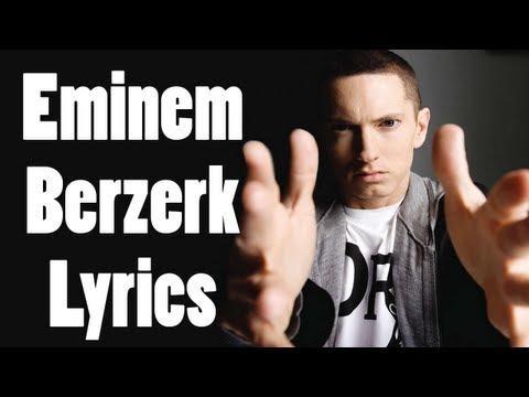 eminem - Berzerk (lyrics Video) Full Song W/ Lyrics