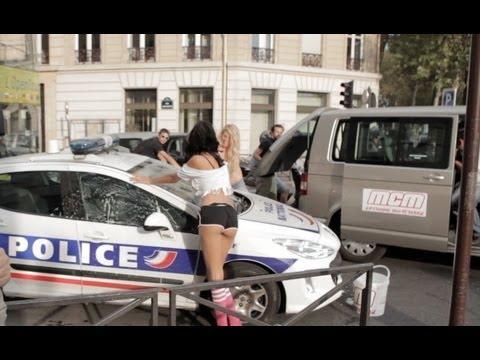 Sexy Car Wash - MCM - La police y passe