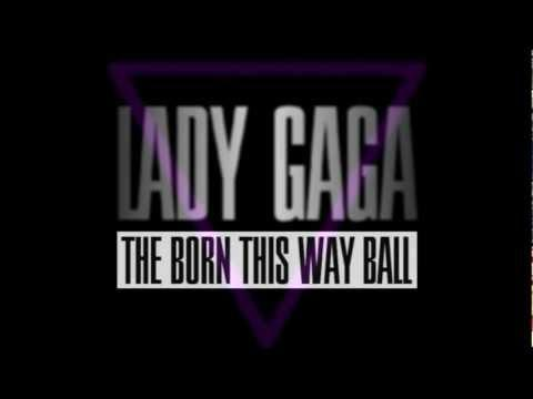LADY GAGA - The Born This Way Ball Tour (1.0) 2012 - 2013 + OSHO