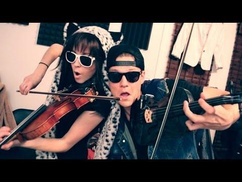 Lindsey Stirling & Tyler Ward - Thrift Shop -  (Macklemore & Ryan Lewis Cover)
