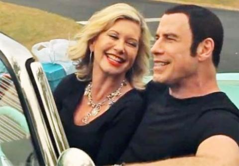 John Travolta - Olivia Newton John - Clip I Think You Might Like It
