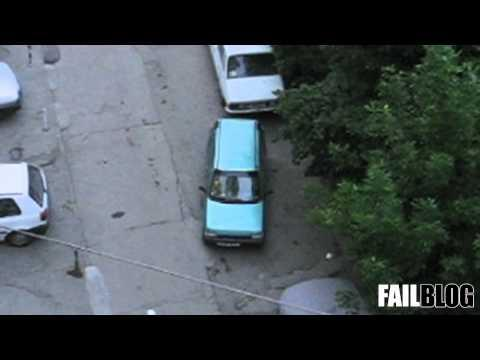 FAIL - Parallel Parking Skills FAIL
